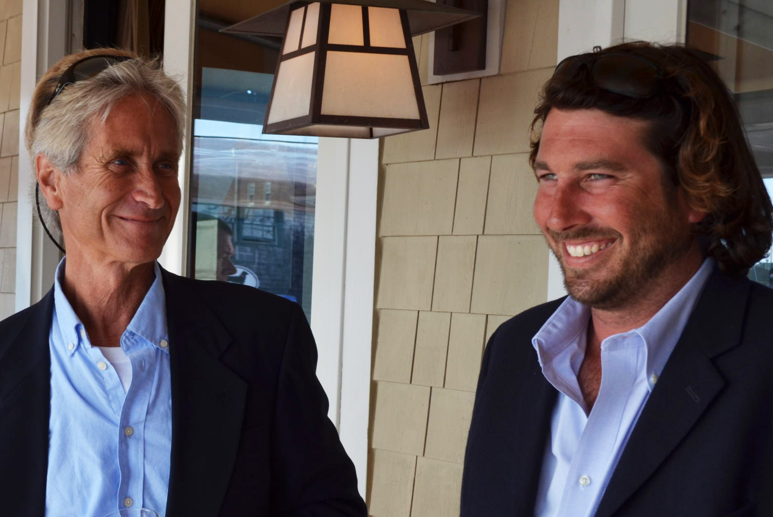 Glenn Waters, Managing Partner & John O'connor, Partner and Service Manager - Bluenose Yacht Sales