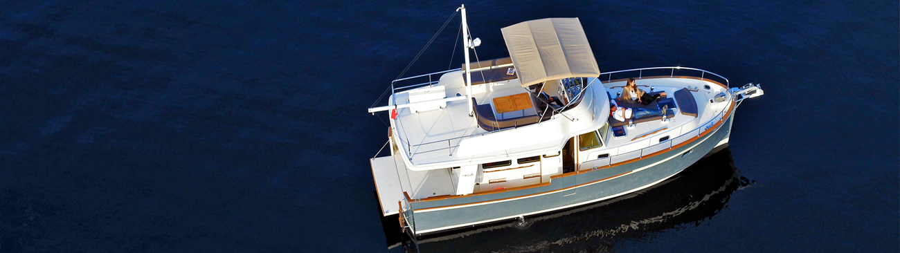 price Rhea 36 Trawler Powerboat for sale
