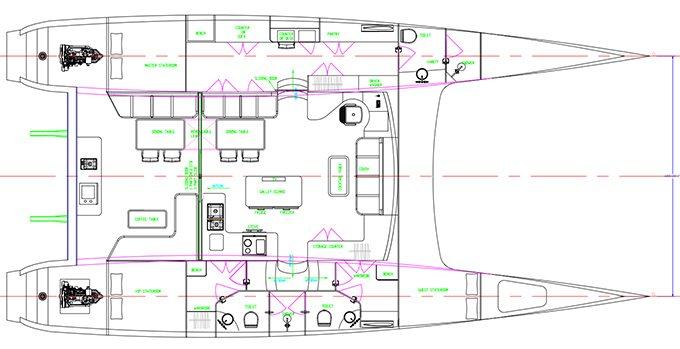 HH55 3 Cabin Layout
