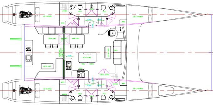 HH55 4 Cabin Layout