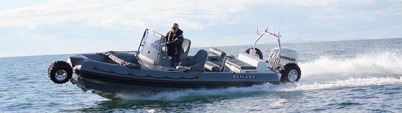Sealegs 7.1M RIB for sale