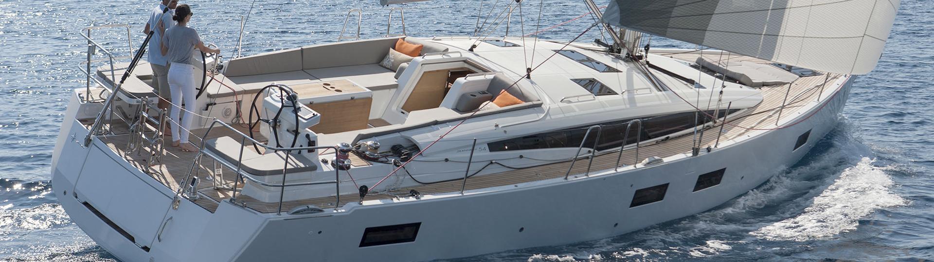 charter a jeanneau 54