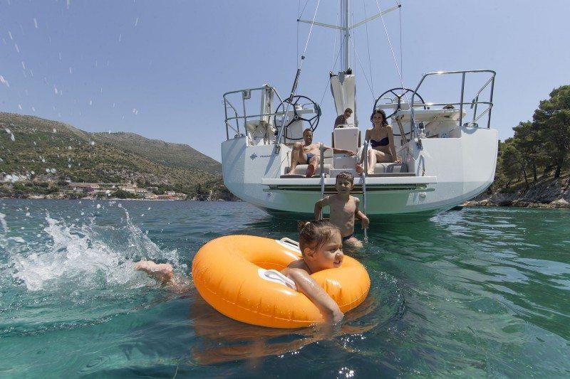 fun onboard Jeanneau 54