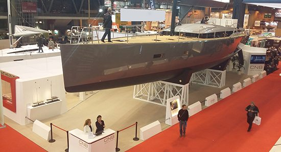 CNB 76 yacht for sale at Dusseldorf Show
