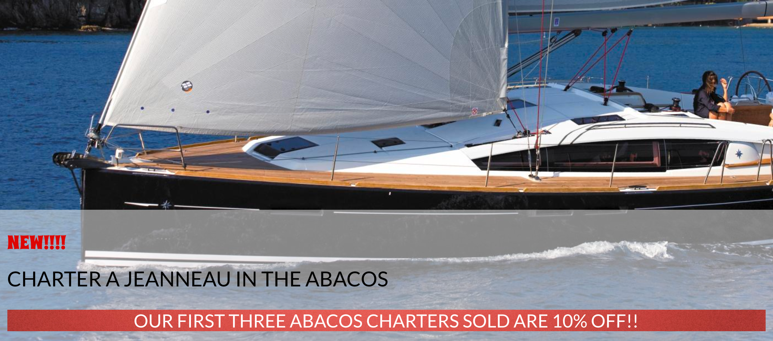 charter a sailboat in the abacos