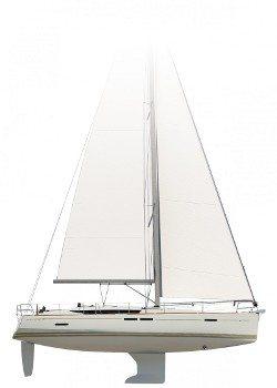 jeanneau 439 sailplan