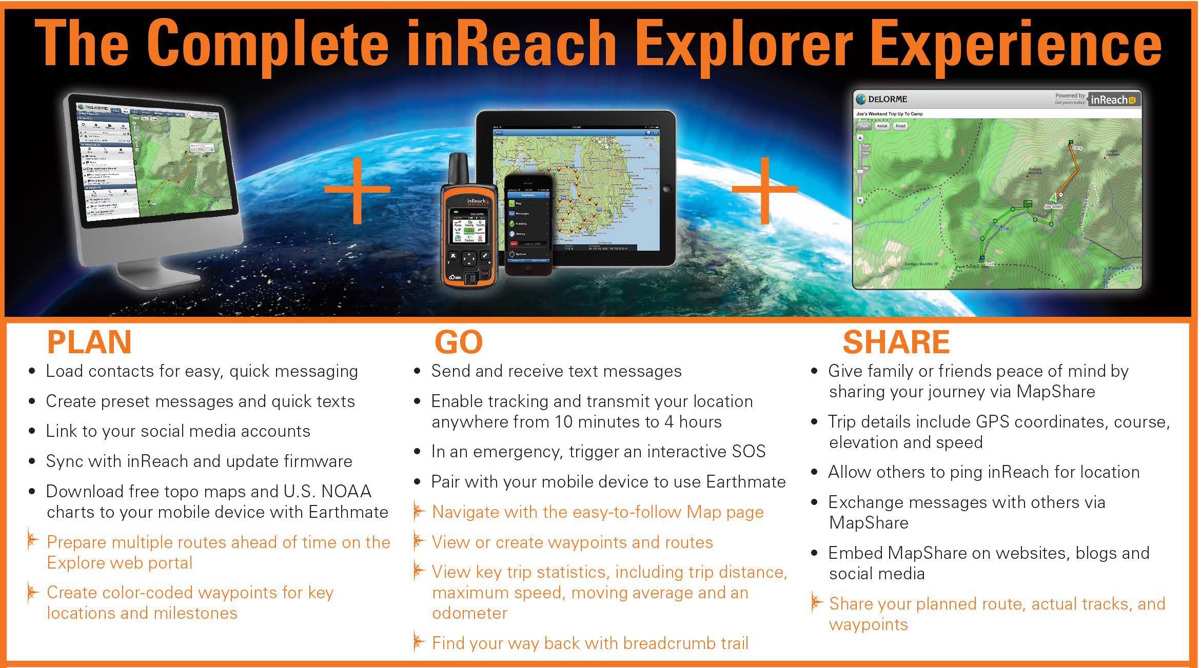 The Complete inReach Explorer Experience