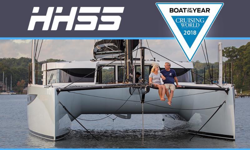 HH55 BEST CRUISING catamaran!