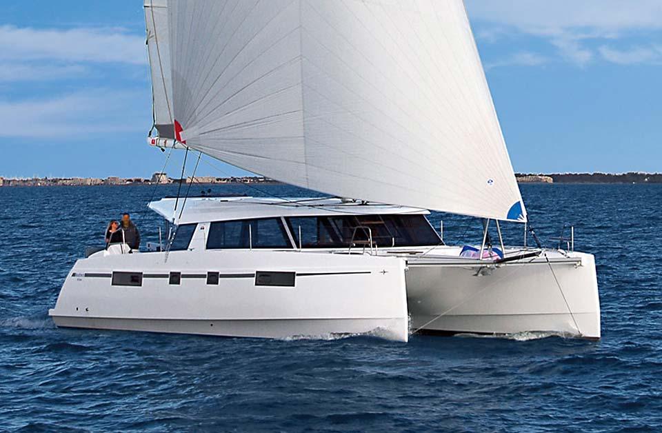 Bavaria Nautitech Open 46 sailing