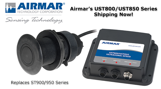 Airmar's UST800/UST850 Series Shipping Now