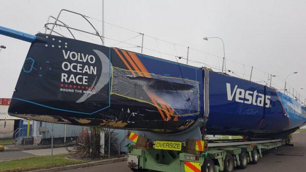 Volvo Ocean Race Vestas on land