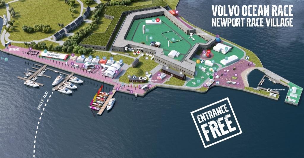 Volvo Ocean Race Newport Race Village