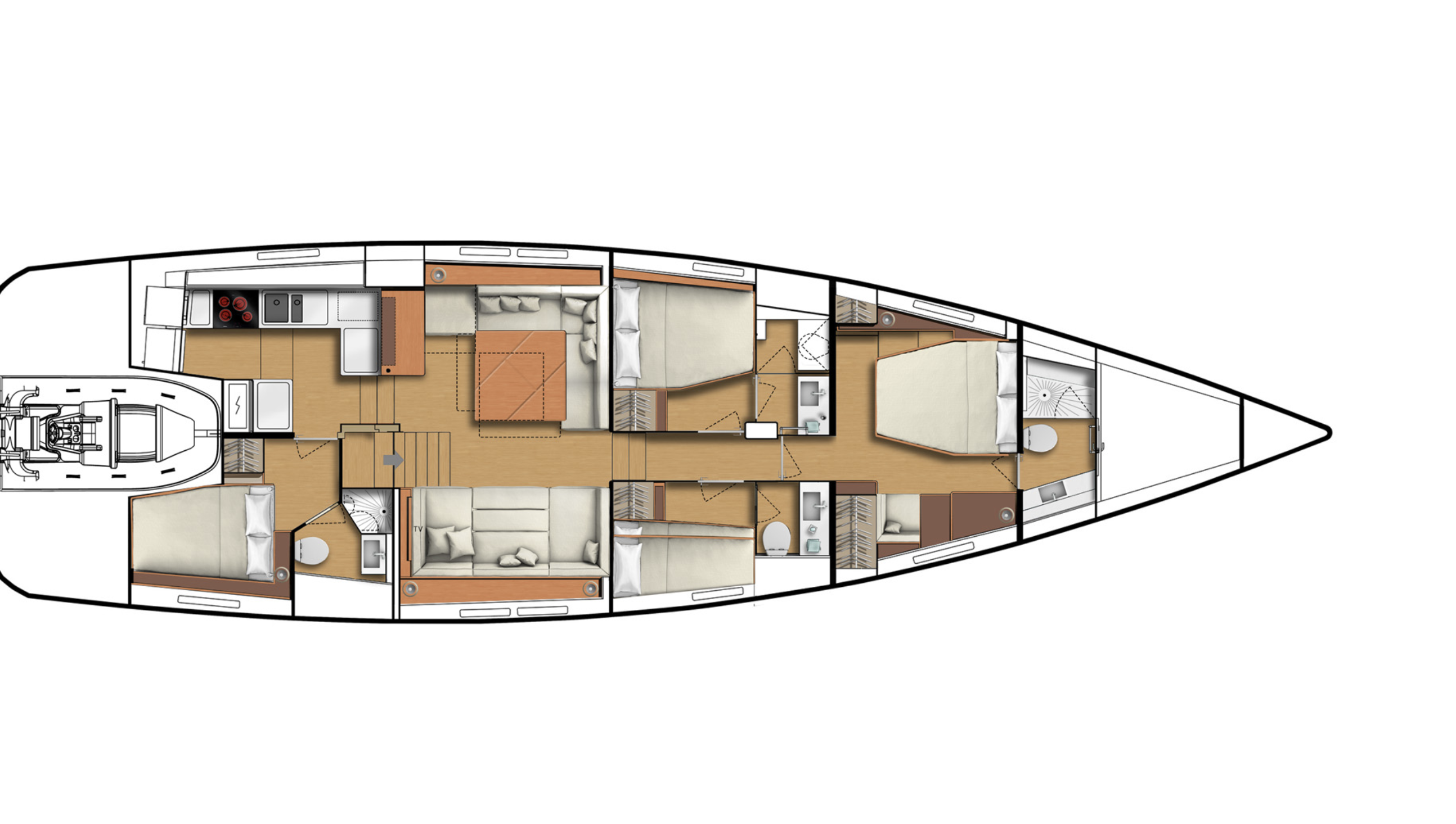 CNB 66 deck layout