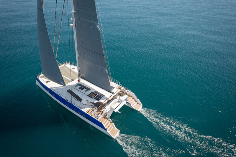 fractional ownership catamaran