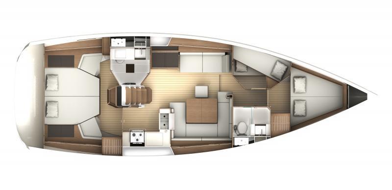 jeanneau 44ds abacos charter