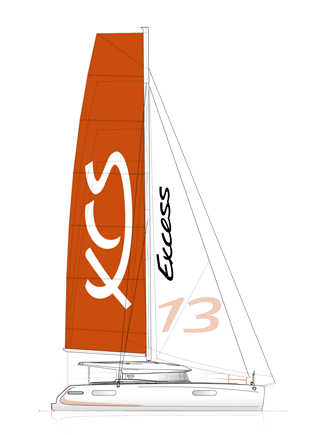 Excess 13 Catamaran