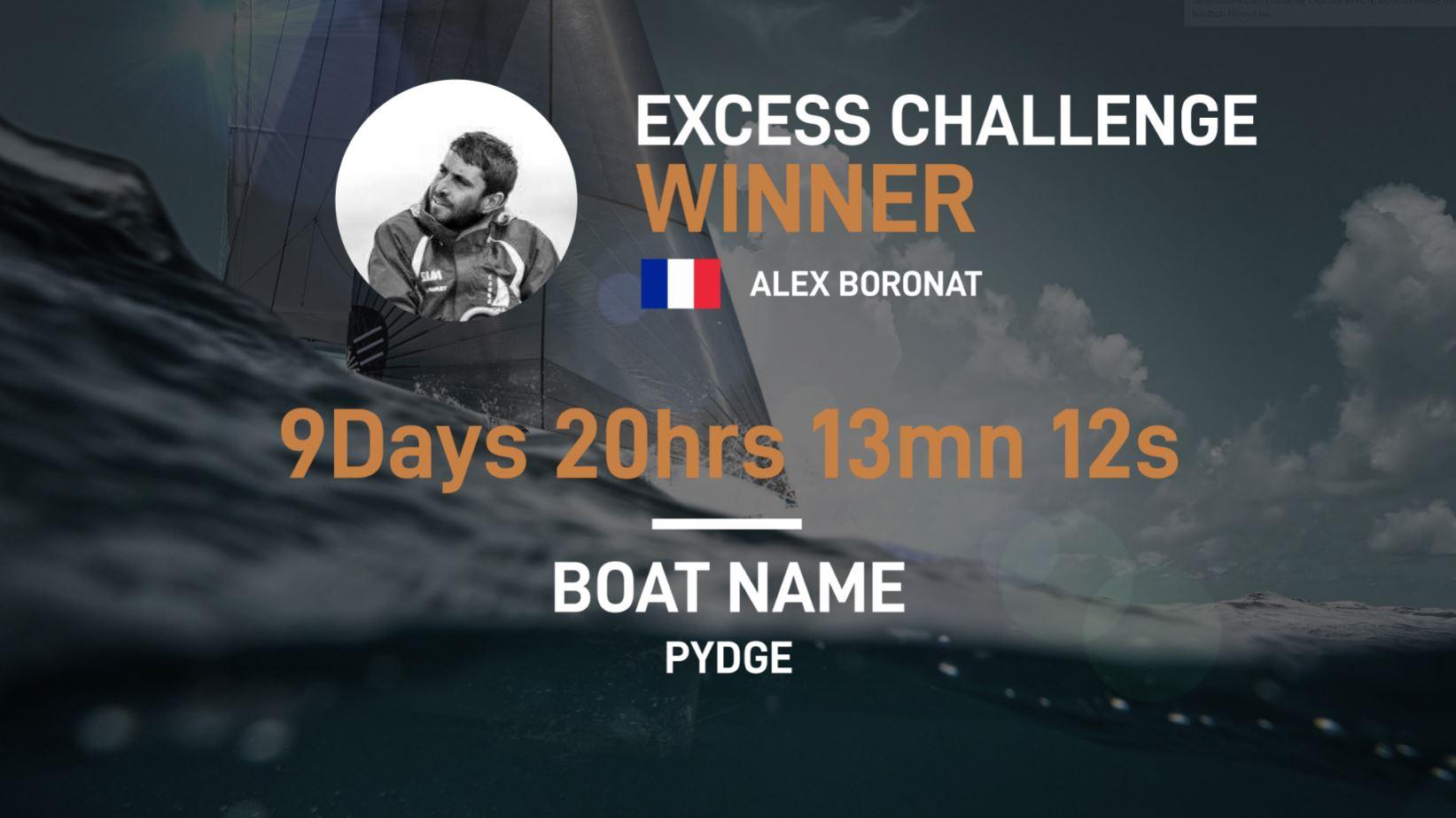Excess Challenge Winner