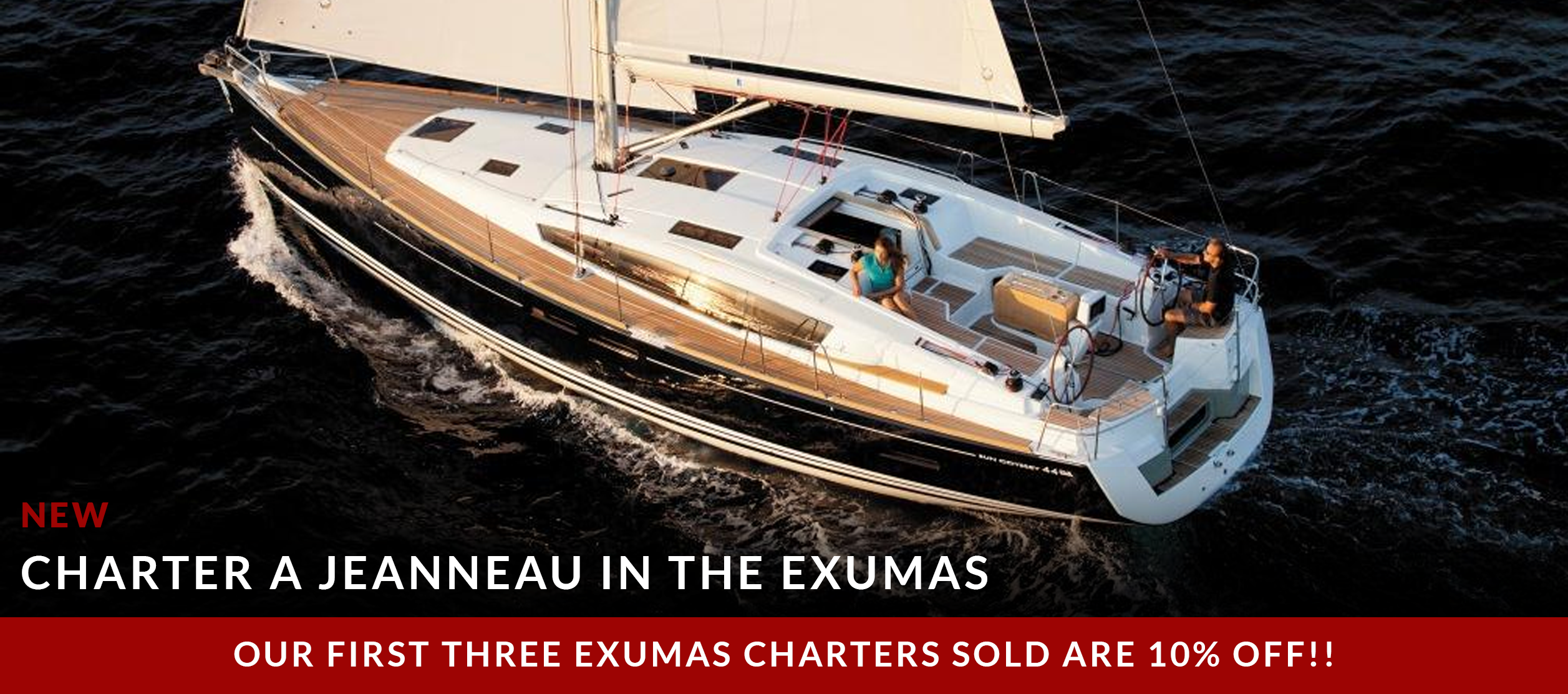 Charter a Jeanneau in the Exumas
