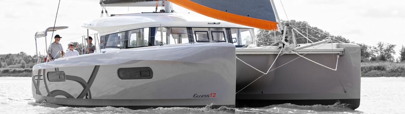 excess 12 catamaran charter