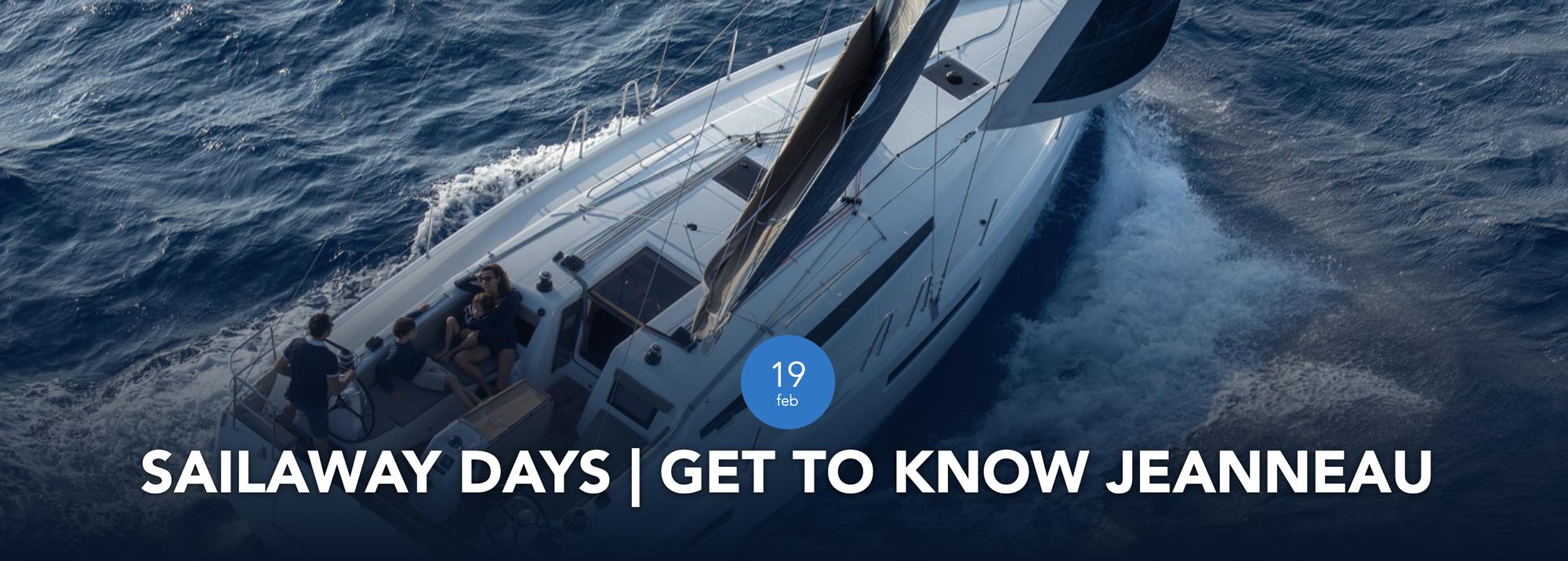 Jeanneau Sail Away Days